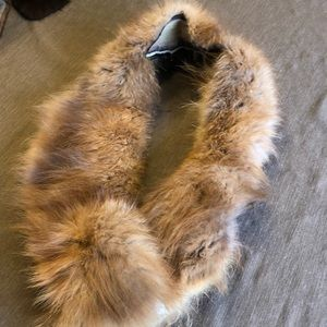Vintage Real Fur Collar